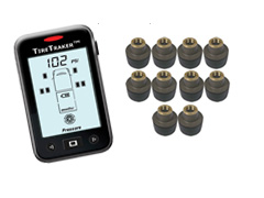 TT-500 / 10-WHEEL TIRE MONITORING SYSTEM