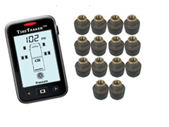 TT-500 / 14-WHEEL TIRE MONITORING SYSTEM